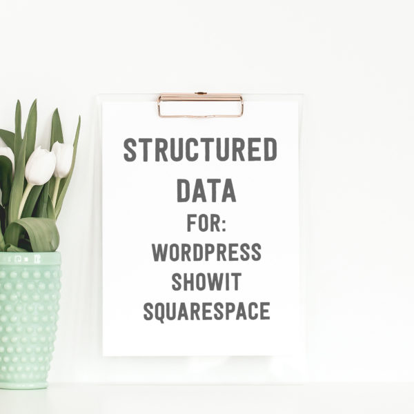 Graphic illustrating structured data service