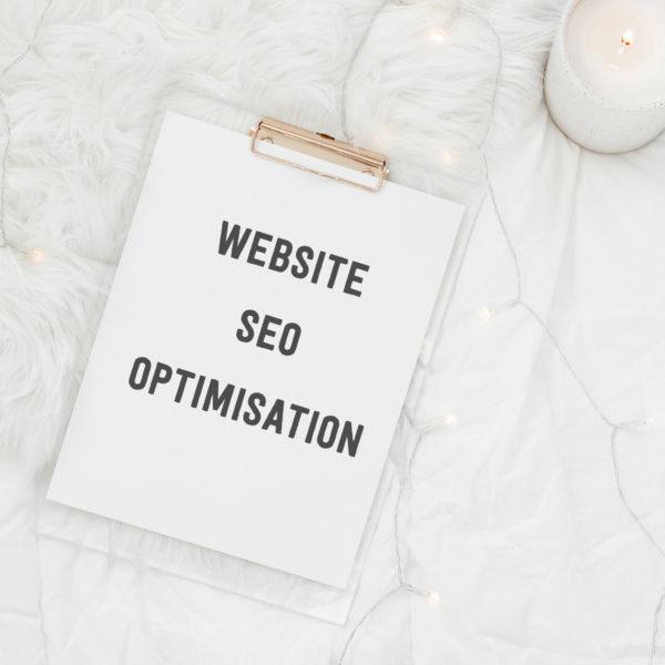 website seo optimisation graphic illustrating service
