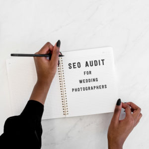 SEO Audit for Wedding Photographers