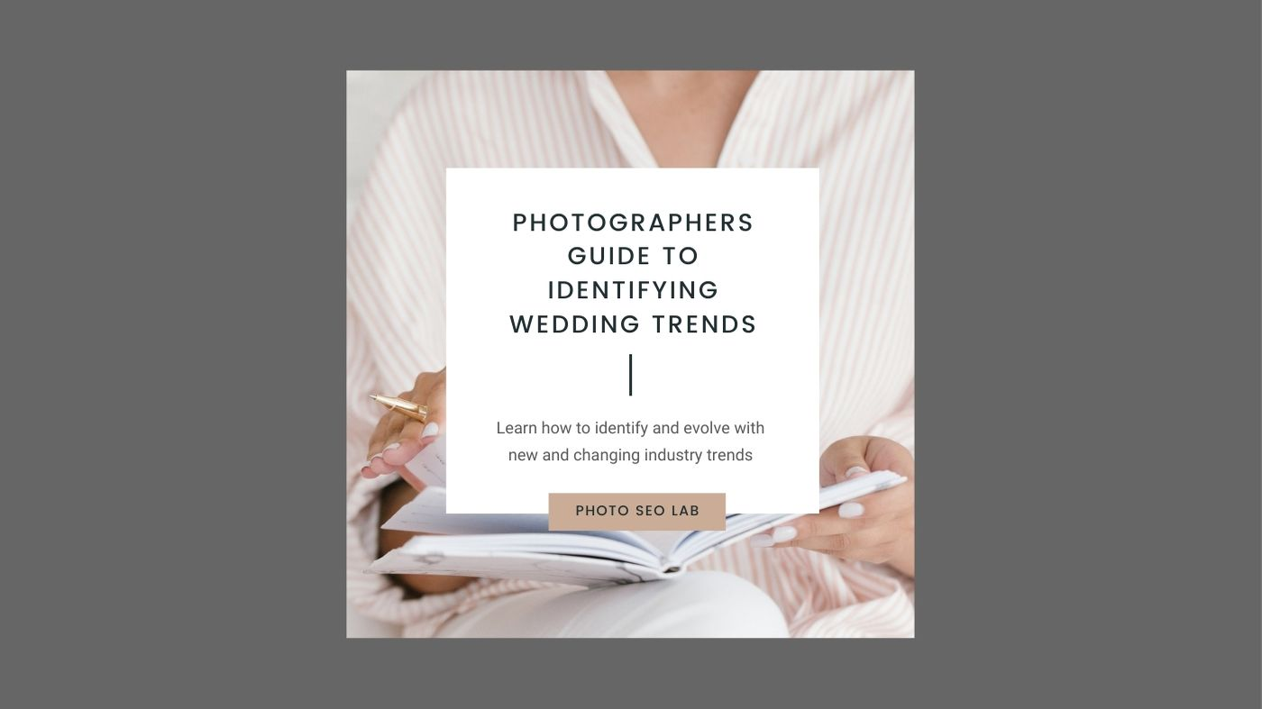 photographers guide to wedding trends illustration